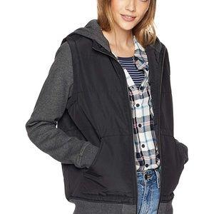 b47ab5e4a15f RVCA women's thermal puffed hoodie - jacket